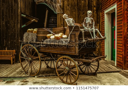 old-carriage-two-skeletons-decorated-450w-1151475707.jpg