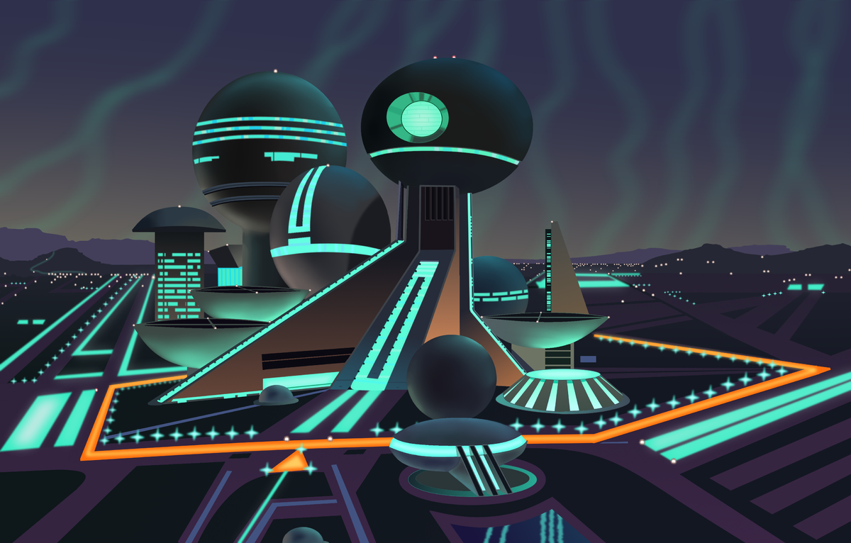 Space Mountain Exit Ramp Painting PNG.png