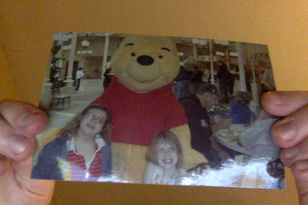 Sisters with Pooh Bear(2010)